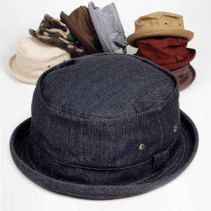 ポークパイハット メンズ レディース スタンダード 年間定番シリーズ ハット帽子 男女兼用 帽子 58cm Mサイズ 選べるカラーバリエーション|coconoco