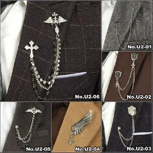 ○ スーツやラペルに飾るアクセサリーで、フォーマルだけではなくカジュアルでも活用されています。 ○ ...