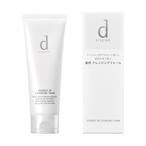 資生堂 dプログラム エッセンスイン クレンジングフォーム 120g (敏感肌用洗顔料)|coconoki