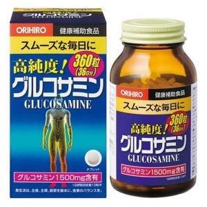 【機能性表示食品】オリヒロ 高純度 グルコサミン粒 360粒|coconoki