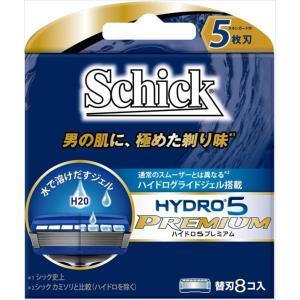 シック ハイドロ5 プレミアム 替刃 8個入【2個までメール便発送可】 coconoki