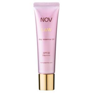 NOV ノブ L&W デイエッセンス UV 30g   <日中用美容液> SPF32  PA++++|coconoki