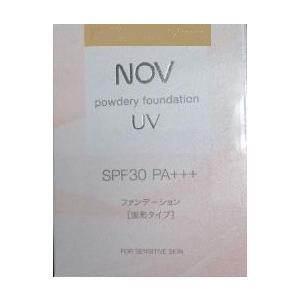 NOV ノブ  パウダリーファンデーションUV (リフィル)【オークル30】 SPF30PA+++ 12g|coconoki