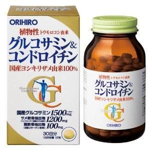 オリヒロ グルコサミン&コンドロイチン 360粒|coconoki