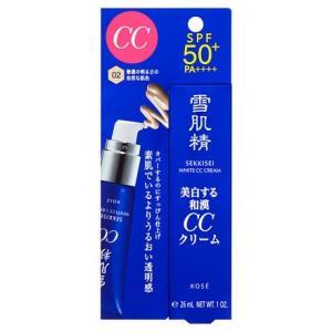 コーセー  雪肌精 ホワイト CCクリーム 02 <エッセンスファンデーション> 30g<1個までメール便発送可>|coconoki