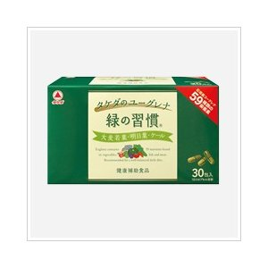 【健康補助食品】 タケダのユーグレナ 緑の習慣   3カプセル×24包 coconoki