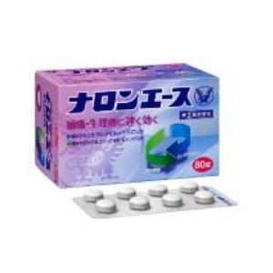 【指定第2類医薬品】【大正製薬】ナロンエース 80錠|coconoki