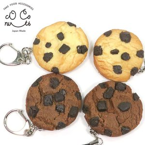 食べちゃいそうなチョコチップクッキー 食品サンプルキーホルダー、ストラップ coconuts-ac