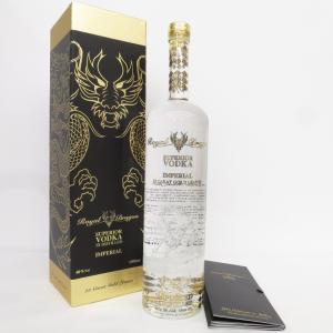 ウォッカ ロイヤルドラゴンウォッカ インぺリアル 40度 1500ml Royal Dragon SUPERIOR VODKA 5X DISTILLED 未開栓 古酒 【F野々市店】|cocoroad