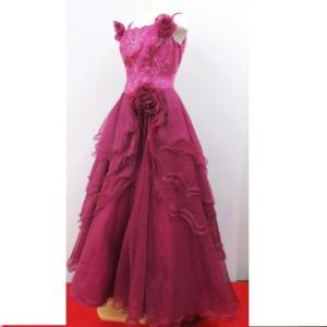 ■商品情報 アイテム:ドレス 対象:レディース カラー:ピンク  [ サイズ ]  着丈:約155c...