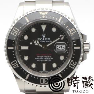 美品 ROLEX(ロレックス)腕時計 シードゥエラー 126600 ランダム番 自動巻き ブラック SEA DWELLER【時蔵】 cocoroad