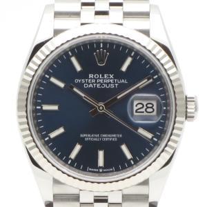美品 ROLEX(ロレックス)腕時計 デイトジャスト36 126234 ジュビリーブレス ブルー 自動巻き DATEJUST【時蔵】 cocoroad