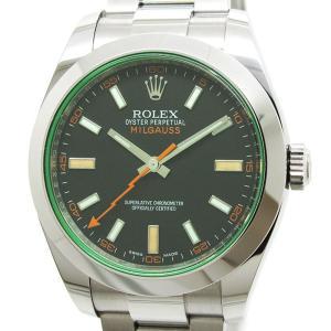 ROLEX(ロレックス)ミルガウス Ref.116400GV ランダム番 ブラックダイアル 自動巻き...