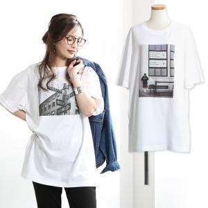 セール メ1.5 トップス 大人女子 BIG サイズ フォト Tシャツ レディース おしゃれ フォトT カットソー 半袖 ユニセックス|cocorocreation