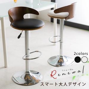 カウンターチェア カウンターチェアー バーチェア 木製 おしゃれ 合成皮革 チェア 椅子 イス|cocosa