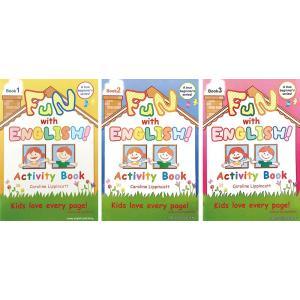 英語教材 Fun with English! ワークブック 3レベルセット cocoshopjapanstore