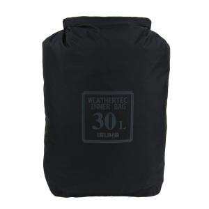 イスカ(ISUKA) ウェザーテック インナーバッグ 30L ブラック 356501|cocoshopjapanstore