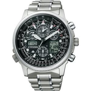 [シチズン]CITIZEN 腕時計 PROMASTER プロマスター エコ・ドライブ 電波時計 スカイシリーズ ジェットセッター クロノグラフ PMV65-2271 メンズ|cocoshopjapanstore