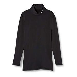 [Mizuno] トレーニングウェア バイオギア シャツ裏起毛 32MA8500 メンズ ブラック×ホワイト 日本 L (日本サイズL相当)|cocoshopjapanstore