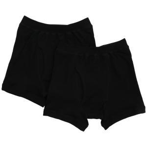 [グンゼ] ボクサーパンツ やわらか肌着 綿100% 抗菌防臭加工 前あき SV61902 メンズ ブラック 日本M (日本サイズM相当)|cocoshopjapanstore