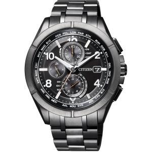 [シチズン]CITIZEN 腕時計 ATTESA アテッサ Eco-Drive エコ・ドライブ 電波時計 ダイレクトフライト AT8166-59E メンズ|cocoshopjapanstore