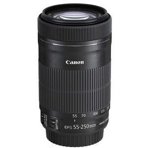 【新品】 キヤノン Canon EF-S55-250mm F4-5.6 IS STM ズームレンズ 白箱|cocoshopjapanstore