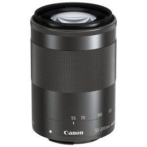 新品 Canon 望遠ズームレンズ EF-M55-200mm F4.5-6.3 IS STM ミラーレス専用 交換レンズ [ブラック]|cocoshopjapanstore