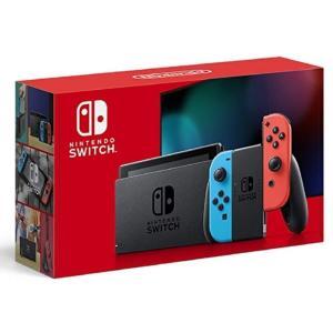 新品未使用品 任天堂 Nintendo Switch 本体 (ニンテンドースイッチ) Joy-Con(L) ネオンブルー/(R) ネオンレッド  (バッテリー持続時間が長くなったモデル)|cocoshopjapanstore