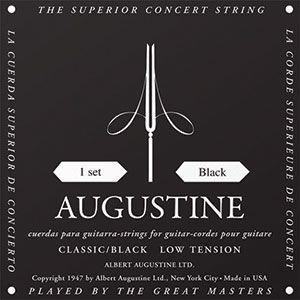 AUGUSTINE クラシックギター弦 BLACK|cocosoundweb