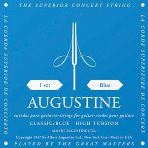 AUGUSTINE クラシックギター弦 BLUE|cocosoundweb