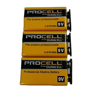 DURACELL PROCELL 9V電池 006P プロセル 3個セット|cocosoundweb