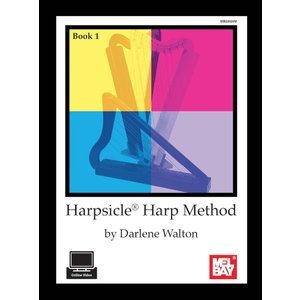 Harpsicle Harp Method Book with DVD