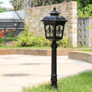 門柱灯 門灯 防雨 外灯 庭園灯 玄関照明屋外 照明器具 暗くなって灯る明かりが家族のスタイルを映し...