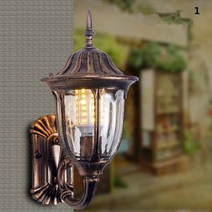 壁掛け 照明  玄関灯 防水 レトロ  壁掛けライト 外灯 ポーチライト 庭園灯 ラケットライト ア...