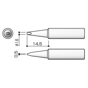 白光:FX-888用 こて先/1.6D型 T1...の関連商品6
