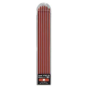 三菱鉛筆:フィールド 建築用 2.0mmシャープ 専用替芯 6本 U20-310 1P.15 14066