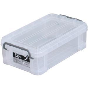 工具類やアウトドア用品などの収納に便利。 内容物が見やすい蓋付きコンテナボックス。 フタには便利な目...
