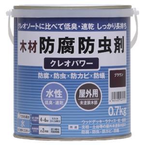 【特長】 ・木材に防腐・防虫・防カビ・防蟻性能を与える木材保護着色剤です。 ・厳選した薬剤・樹脂・顔...