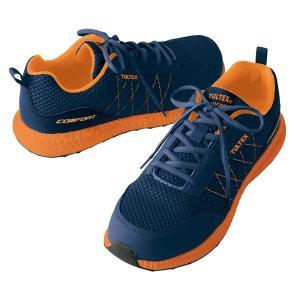 安全靴 スニーカー タルテックス 軽量 スポーティメッシュ セーフティーシューズ ローカット メンズ 作業靴 TULTEX AZ-51653の商品画像|ナビ