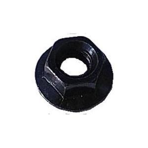 (代引不可)SHIKISHIMA:フランジナット 8×5mm ブラック バラ