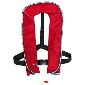 DABADA(ダバダ):ライフジャケット ベストタイプ 手動膨張式 レッド life-jacket-best-manual