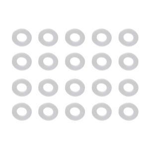 福井金属工芸:ナイロンワッシャー 4.5×10×0.8 (20枚入) HB-10