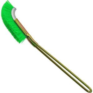 洗浄・掃除作業等に。 力を掛けやすい先曲 チャンネルブラシ(ワイヤーブラシ) 酸性・耐アルカリ性・耐...