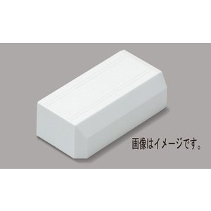 マサル工業:ニュー・エフモール付属品 エンド 2号 ミルキーホワイト SFME23