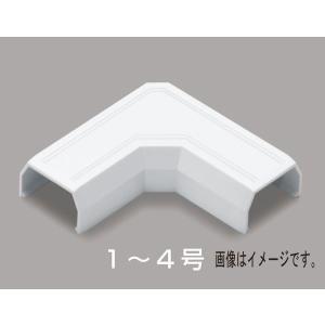 マサル工業:ニュー・エフモール付属品 マガリ 2号 ミルキーホワイト SFMM23