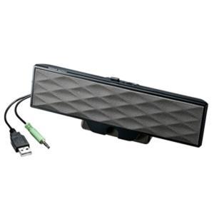 サンワサプライ:USB電源サウンドバースピーカー MM-SPL11UBK