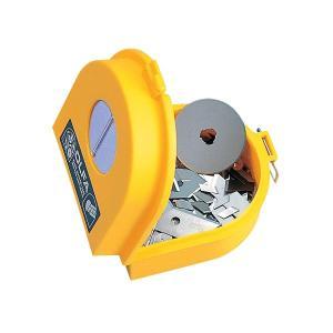 カッターの刃や円形刃を安全確実に処理できます。ハリ、ピンなどの処理にも使えます。  ●この商品はメー...