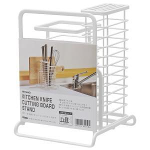 (用途) 毎日使うものを、まとめてキレイに取り出しやすく  (特長) 包丁・まな板・キッチンツールが...