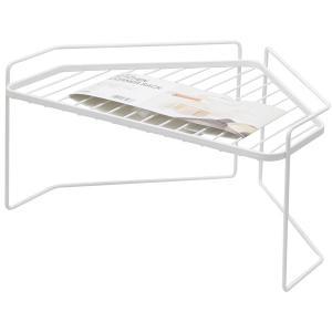 (用途) デッドスペースになりがちなコンロ奥を収納スペースに 置き場に困るケトルや調理中の鍋のちょい...