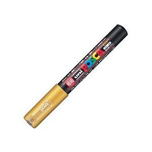 三菱鉛筆:水性マーカー ポスカ 極細 金 PC...の関連商品4